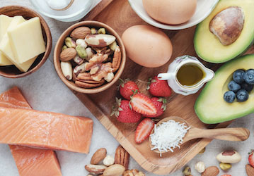 Ketogenic foods