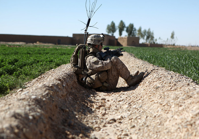 Mindfulness. (U.S. Marine Corps photo by Cpl. Johnny Merkley)