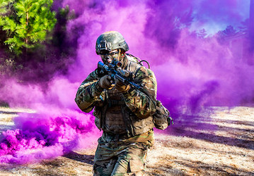 A U S  Soldier a takes part in a training event  U S  Army photo by Patrick Albright