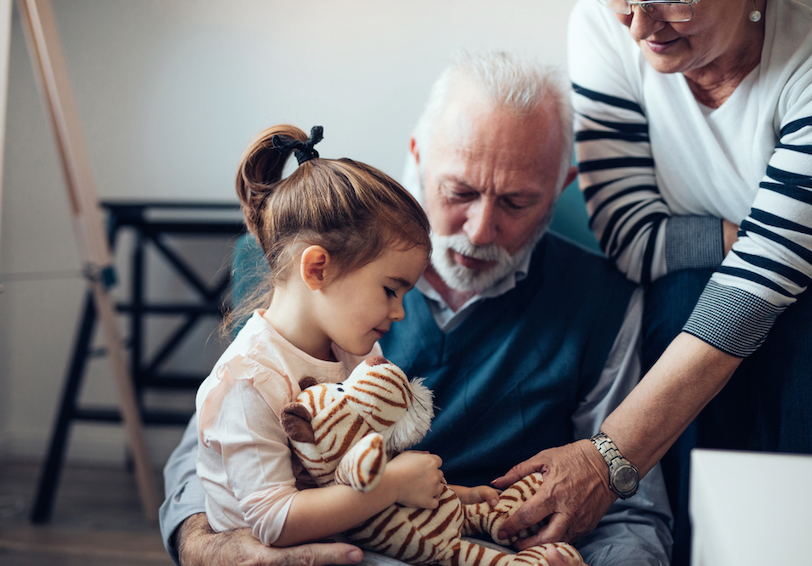 Grandparents raising grandchild