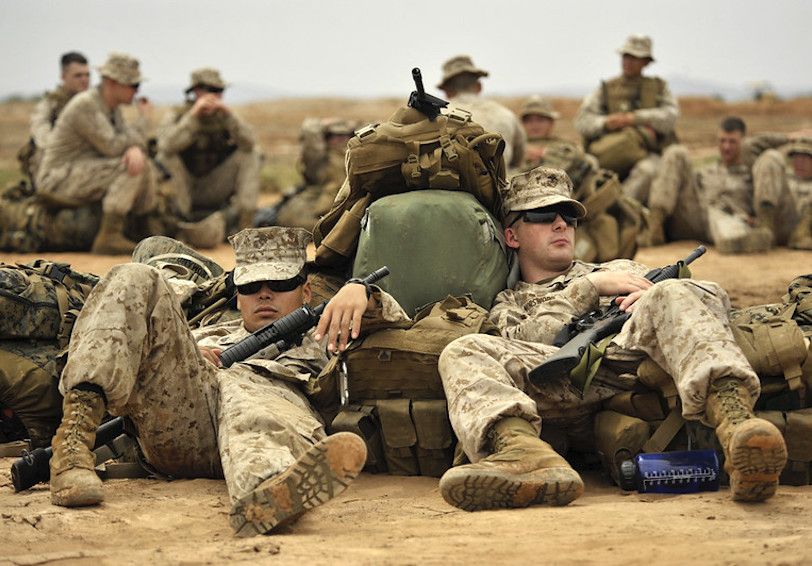 Sleep U.S. Marine Corps photo.