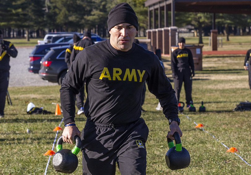 ACFT level 2. (New Jersey National Guard photo by Mark C. Olsen)