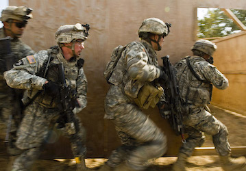 Army team during a training exercise. (U.S. Air Force photo by Master Sgt. Cecilio Ricardo)