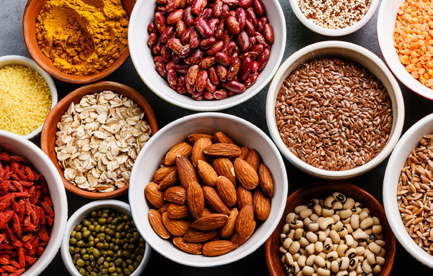Nuts, seeds, and legumes