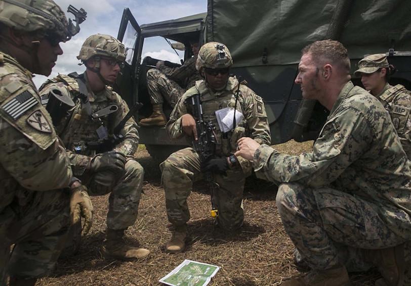 Return to duty  U S  Marine Corps photo by Cpl  Amaia Unanue