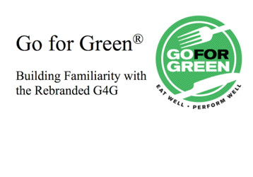 Go for Green  Building Familiarity with the Rebranded G4G   Go for Green logo