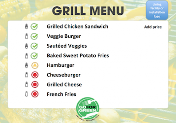Thumbnail of first page of Grill Menu document