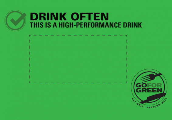 Thumbnail of Green Beverage Food Card