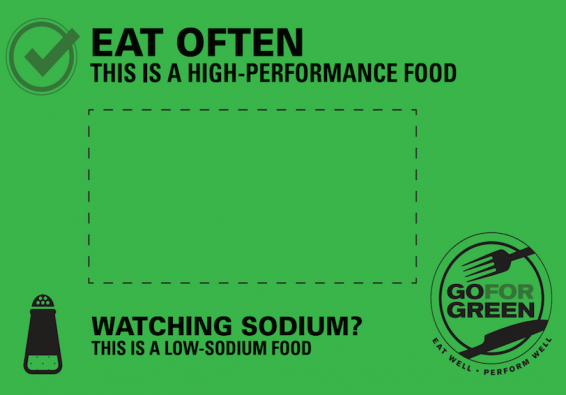 Thumbnail of Green: Low Sodium Food Card