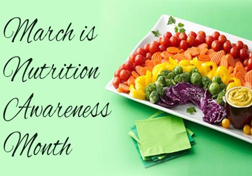 March is Nutrition Awareness Month (Graphic courtesy of AFMS Public Affairs)