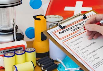 Person completing Emergency Preparation Checklist