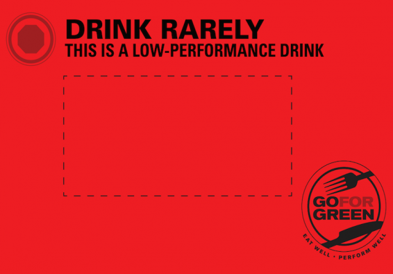 Thumbnail of Red Beverage Card