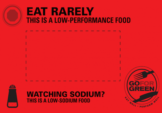 Thumbnail of Red: Low Sodium Food Card