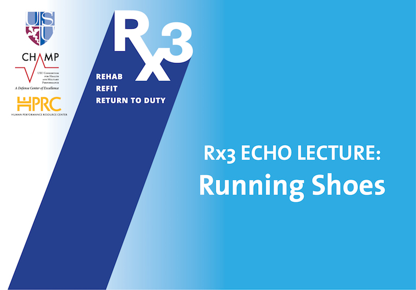 USU CHAMP Rx3 ECHO LECTURE  Running Shoes