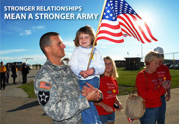 Stronger relationships mean a stronger Army