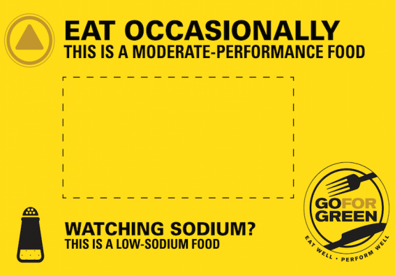 Thumbnail of Yellow  Low Sodium Food Card