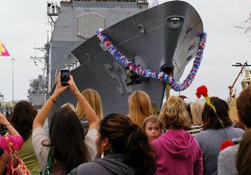 USS Bunker Hill  U S  Navy photo by Mass Communication Specialist Seaman Carla Ocampo Released