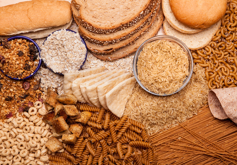 Various whole grain items